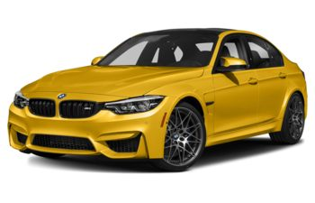 2018 BMW M3 - Speed Yellow