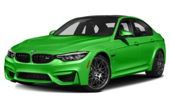 2018 BMW M3 - Java Green Metallic