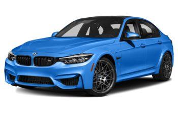 2018 BMW M3 - Santorini Blue II