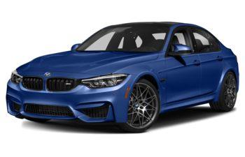 2018 BMW M3 - San Marino Blue