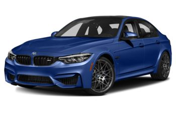 2018 BMW M3 - San Marino Blue Metallic