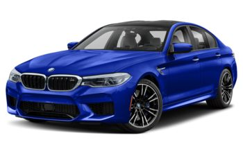 2019 BMW M5 - Marina Bay Blue Metallic