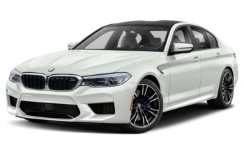 2019 BMW M5 - Alpine White Non-Metallic