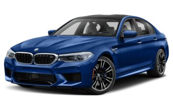 2019 BMW M5 - Frozen Marina Bay Blue