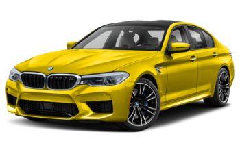 2020 BMW M5 - Speed Yellow
