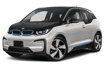 2021 BMW i3 - Capparis White w/BMW i Frozen Blue Accent
