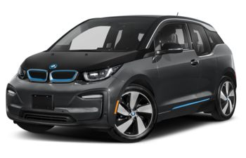 2020 BMW i3 - Mineral Grey Metallic w/BMW i Frozen Blue Accent