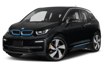 2021 BMW i3 - Fluid Black w/BMW i Frozen Blue Accent