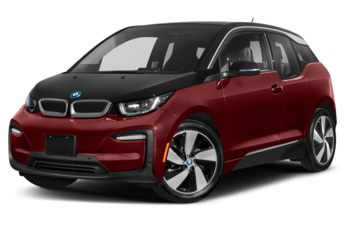 2020 BMW i3 - Melbourne Red Metallic w/Frozen Grey Accent