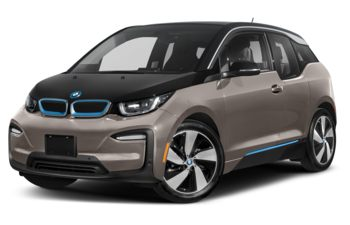 2021 BMW i3 - Cashmere Silver Metallic w/BMW i Blue Accent