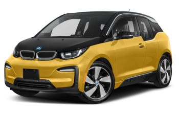 2021 BMW i3 - Galvanic Gold Metallic w/Frozen Grey Accent