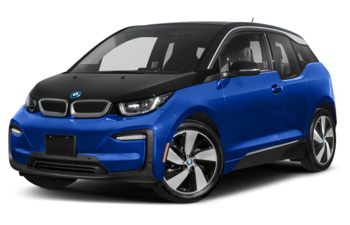 2021 BMW i3 - Blue Ridge Mountain w/Frozen Grey Accent