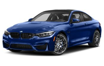 2020 BMW M4 - San Marino Blue Metallic