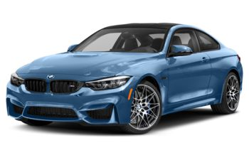 2019 BMW M4 - Yas Marina Blue Metallic