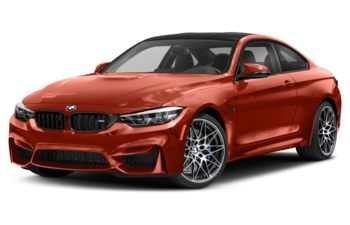 2018 BMW M4 - Sakhir Orange Metallic