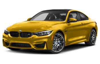 2019 BMW M4 - Speed Yellow