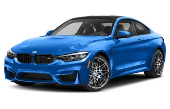 2019 BMW M4 - Santorini Blue II