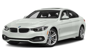 2019 BMW 440 Gran Coupe - Alpine White Non-Metallic