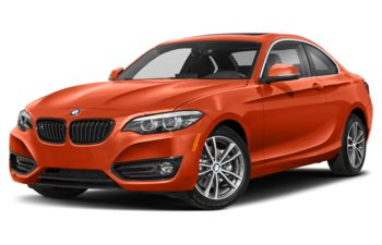 2020 BMW 230 - Sunset Orange Metallic