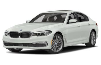 2019 BMW 530e - Alpine White Non-Metallic