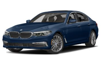 2019 BMW 530e - Mediterranean Blue Metallic