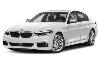 2019 BMW M550 - Alpine White Non-Metallic
