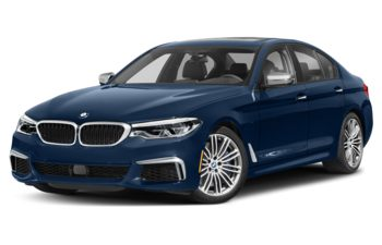2020 BMW M550 - Mediterranean Blue Metallic