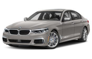 2019 BMW M550 - BMW Individual Frozen Cashmere Silver Metallic