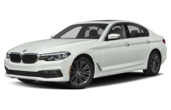 2018 BMW 540d - Alpine White