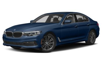 2018 BMW 540d - Mediterranean Blue Metallic