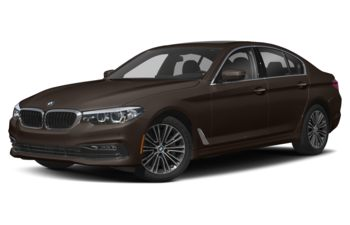 2018 BMW 540d - Almandine Brown Metallic