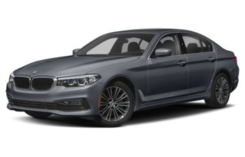 2018 BMW 540d - Frozen Arctic Grey