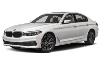 2018 BMW 540d - Brilliant White Metallic