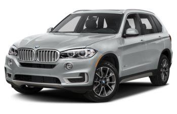 2018 BMW X5 - Glacier Silver Metallic