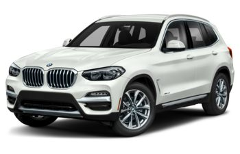 2019 BMW X3 - Alpine White Non-Metallic