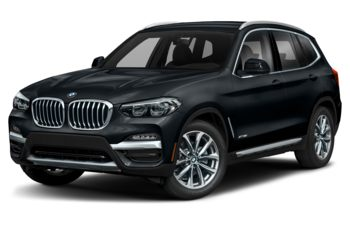 2019 BMW X3 - Carbon Black Metallic