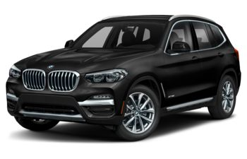 2020 BMW X3 - Black Sapphire Metallic