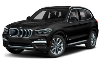 2019 BMW X3 - Jet Black Non-Metallic