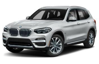 2020 BMW X3 - Glacier Silver Metallic