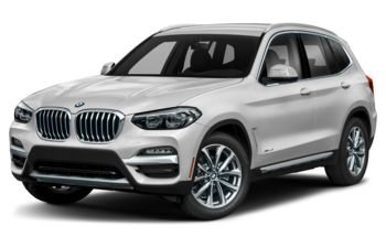 2021 BMW X3 - Mineral White Metallic