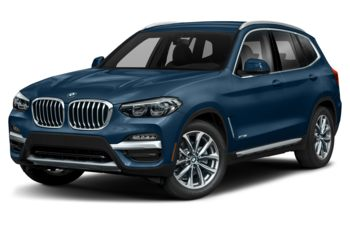 2019 BMW X3 - Phytonic Blue Metallic