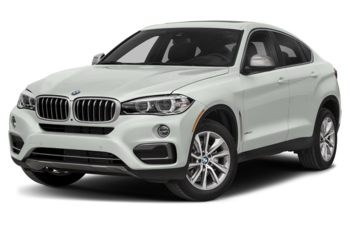 2019 BMW X6 - Alpine White Non-Metallic