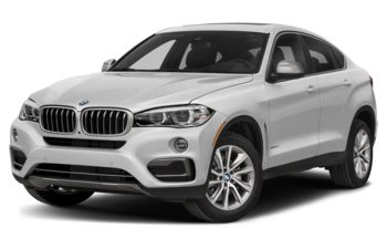 2018 BMW X6 - Mineral White Metallic