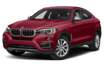 2018 BMW X6 - Flamenco Red Metallic