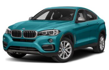 2018 BMW X6 - Long Beach Blue Metallic