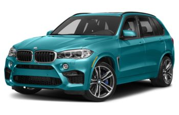 2018 BMW X5 M - Long Beach Blue Metallic