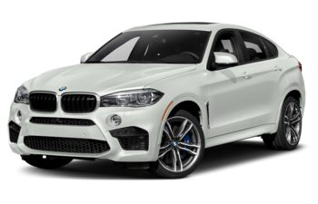 2019 BMW X6 M - Alpine White Non-Metallic