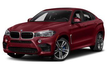 2019 BMW X6 M - Melbourne Red Metallic