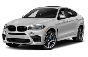 2019 BMW X6 M - Mineral White Metallic