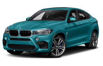 2019 BMW X6 M - Long Beach Blue Metallic